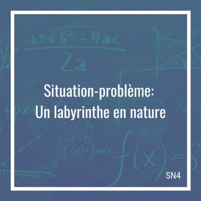 Situation-problème: Un labyrinthe en nature - 4e secondaire | Math à distance
