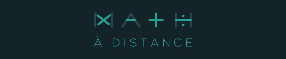 Math à distance